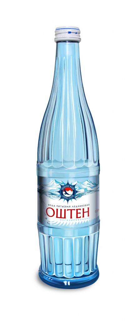 Вода газированная «Оштен» 0,5 л, Стекло